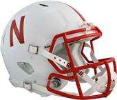 NCAA Nebraska Full Size Speed Authentic Helmet