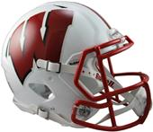 NCAA Wisconsin Full Size Speed Authentic Helmet