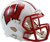 NCAA Wisconsin Speed Mini Helmet