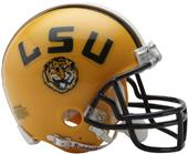 NCAA Louisiana State Mini Helmet (Replica)