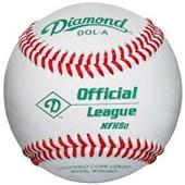 Diamond NFHS Official League Baseballs DOL-A C/O