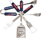 US Marine Corps 4 Piece BBQ Set