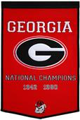 Winning Streak NCAA University of Georgia Banner