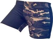 Gem Gear 4 Panel Green Gamo Compression Shorts