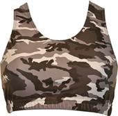 Gem Gear Camouflage Racer Back Sports Bra
