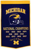 Winning Streak NCAA Michigan University Banner