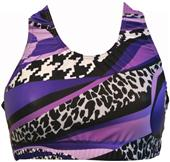 Gem Gear Purple Mamba Racer Back Bra
