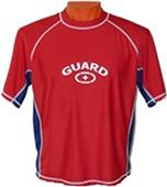 Adoretex Mens Short Sleeve Rash Guard with Logo