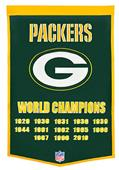 Winning Streak NFL Green Bay Packers Banner