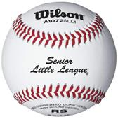 Wilson Senior Little League Raised Seam Baseballs