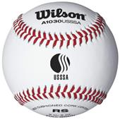 Wilson USSSA Youth League Raised Seam Baseballs