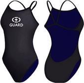Adoretex Womens Lifeguard Open Back Swimsuit