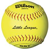 Wilson Little League Fastpitch Softballs (1 DOZ)