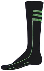 BLACK-FLORESCENT GREEN (PAIR)