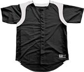 3n2 Women/Girls Faux Full-Button Softball Jersey