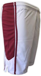 WHITE/MAROON