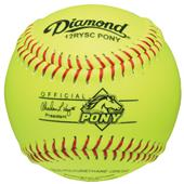 "Diamond 12RYSC Pony League 12"" Youth Softballs"