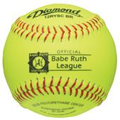 "Diamond 12RYSC BR 12"" Synthetic Cover Softballs"