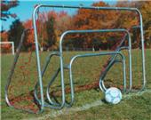 Small Steel Soccer Goals with Ground Bars  (EACH)