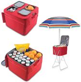 Picnic Time UNLV Rebels Party Cube Cooler