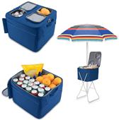 Picnic Time Louisiana Tech Bulldogs Party Cube
