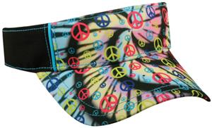 TIE DYED PEACE/SIGNS BLACK