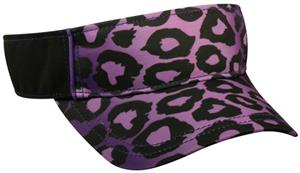 PURPLE LEOPARD PRINT/BLACK
