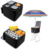 Picnic Time Coastal Carolina Party Cube Cooler