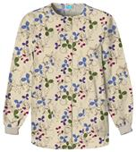 Cherokee Women's H.Q. Print Warm-Up Scrub Jackets