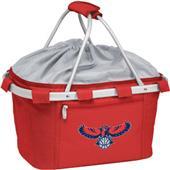 Picnic Time NBA Hawks Insulated Metro Basket