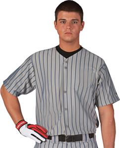 DY/N - DODGER GRAY/NAVY PINSTRIPES