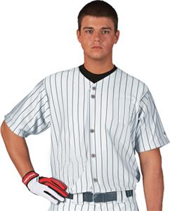 W/B - WHITE/BLACK PINSTRIPES