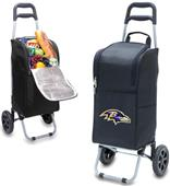 Picnic Time NFL Baltimore Ravens Cart Cooler