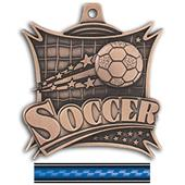 "Hasty Awards 2.5"" Xtreme Soccer Medals M-701"