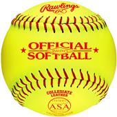 "Rawlings 11"" Official ASA Fast Pitch Softballs"
