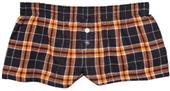 Boxercraft Womens Plaid Flannel Bitty Boxer Shorts