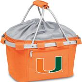 Picnic Time University of Miami Metro Basket