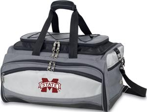 GRAY WITH BLACK & SILVER/EMBROIDERED LOGO