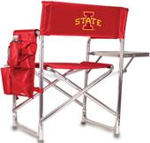 Picnic Time Iowa State Folding Sport Chair & Strap