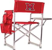 Picnic Time Miami Redhawks Folding Sport Chair