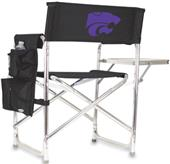 Picnic Time Kansas State Folding Sport Chair