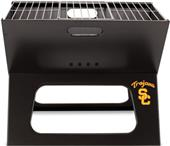 Picnic Time USC Trojans Charcoal X-Grill with Tote
