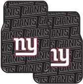 Northwest NFL Giants Car Mats (set of 2)