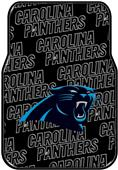 Northwest NFL Panthers Car Mats (set of 2)