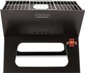Picnic Time Iowa State Charcoal X-Grill with Tote