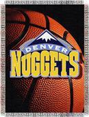 "Northwest NBA Denver Nuggets 48""x60"" Throw"