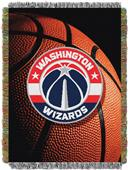 "Northwest NBA Washington Wizards 48""x60"" Throw"