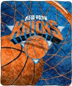 "Northwest NBA New York Knicks 50""x60"" Sherpa Throw"