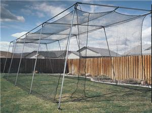 ALUMINUM BACKYARD CAGE