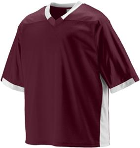 DARK MAROON/WHITE